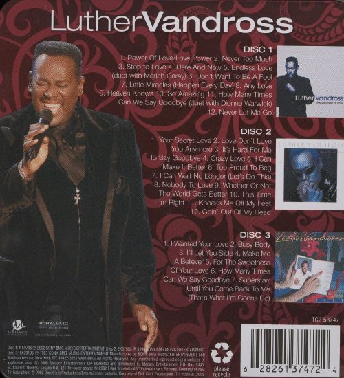 Luther Vandross [Madacy]