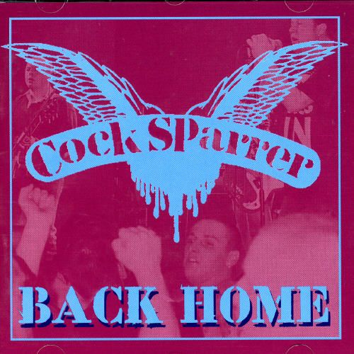 cock sparrer back home