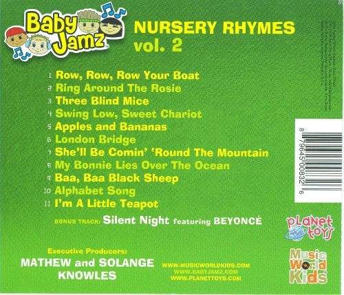 Baby Jamz: Nursery Rhymes, Vol. 2