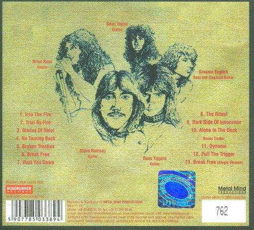 Satan - Court In The Act (1984, Cassette) | Discogs