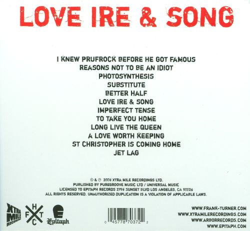 Love Ire & Song