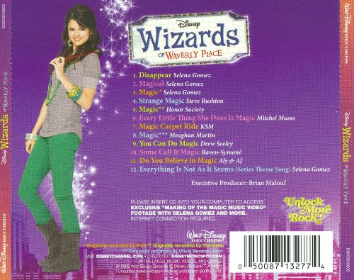 Wizards of Waverly Place: Songs from and Inspired by the Hit TV Series