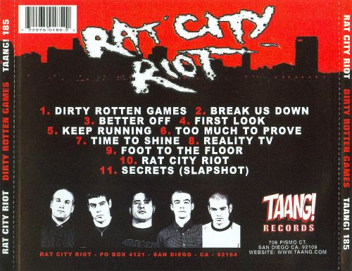 Dirty Rotten Games