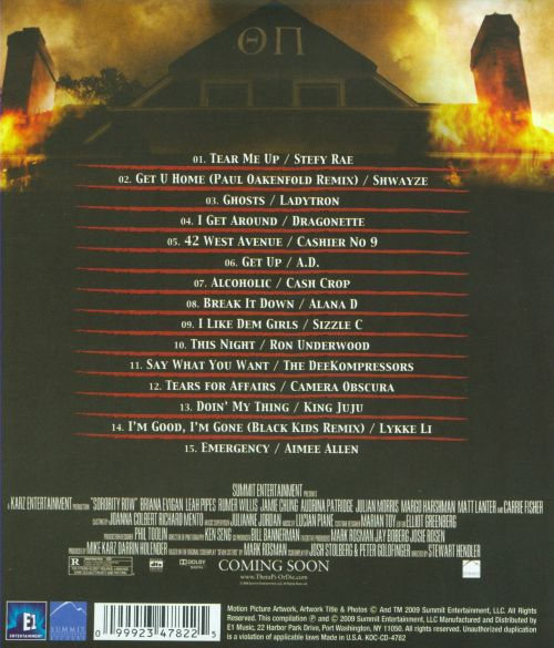 Sorority Row [Soundtrack]