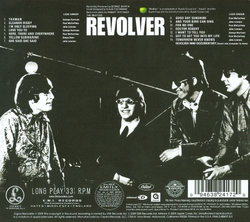 Image result for the beatles revolver images