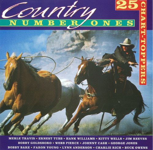 Country Number Ones 25 Chart-Toppers