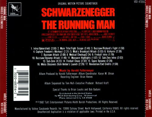 The Running Man [Original Soundtrack]