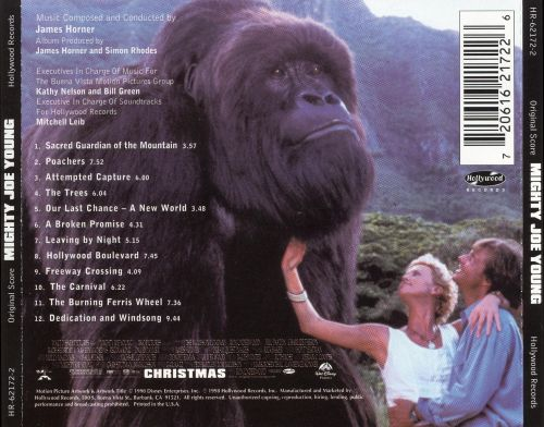 mighty joe young original soundtrack james horner
