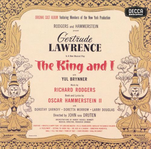 theme analysis in the king and i a musical by richard rodgers and oscar hammerstein ii A synopsis of the musical by richard rodgers and oscar hammerstein ii history & analysis of the musical by rodgers and oscar hammerstein ii the king and i.