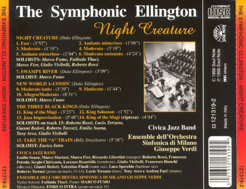 The Symphonic Ellington: Night Creature