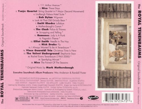 The Royal Tenenbaums [Original Motion Picture Soundtrack]