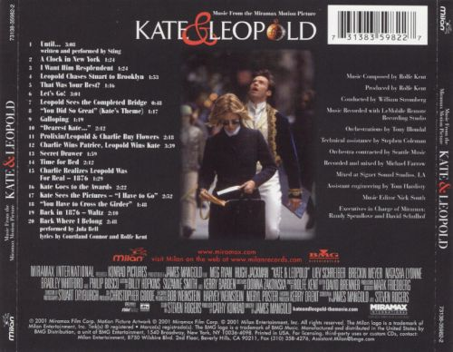 Kate & Leopold [Music from the Motion Picture]