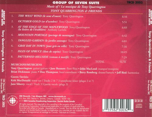 Group of Seven Suite