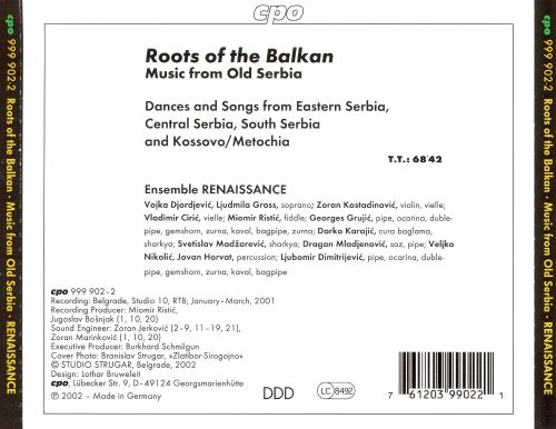 Roots of the Balkan: Music from Old Serbia