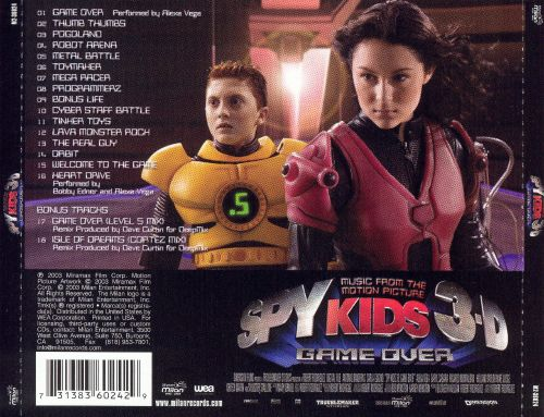 Spy Kids 3-D: Game Over [Music from the Motion Picture]