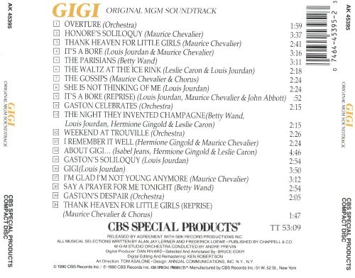 Gigi [Original Soundtrack]