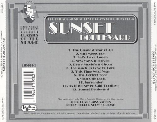 The Chicago Musical Review Plays Selections from Sunset Boulevard