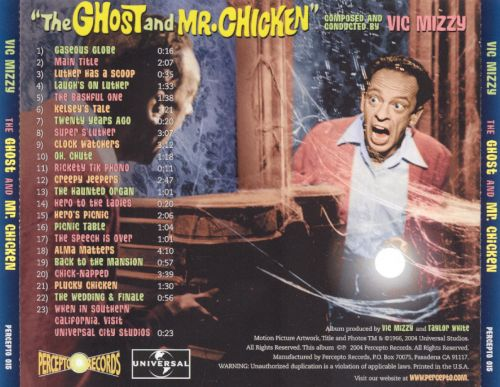 The Ghost and Mr. Chicken [Original Motion Picture Soundtrack]