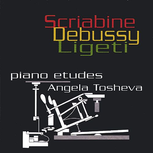 Piano Etudes by Scriabine, Debussy and Ligeti