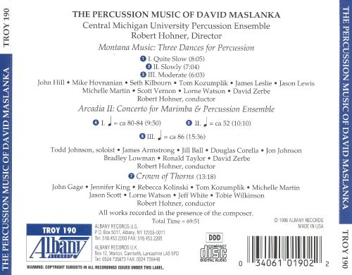 Percussion Music of David Maslanka