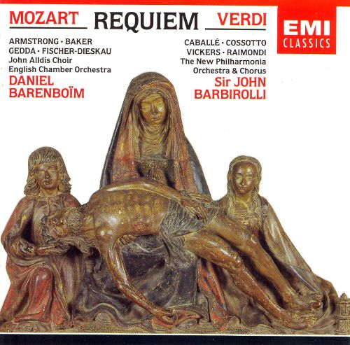 mozart and verdi requeim dies irae The sequence dies irae,  including settings by mozart (though uncompleted), verdi,  a portion of the manuscript of mozart's requiem, .