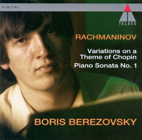 Sergei Rachmaninov: Variations on a theme of Chopin, Op. 22; Piano Sonata, Op. 28