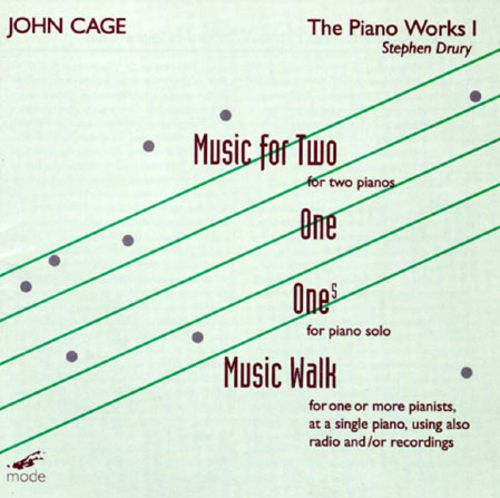 Cage:The Piano Works I