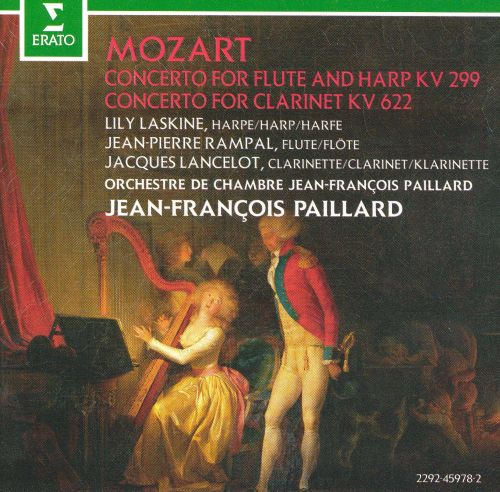 Mozart: Concerto for Flute and Harp KV 299; Concerto for Clarinet, KV 622