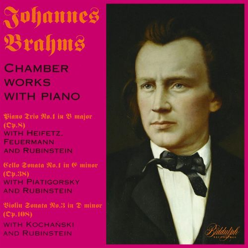 Johannes Brahms: Chamber Works With Piano