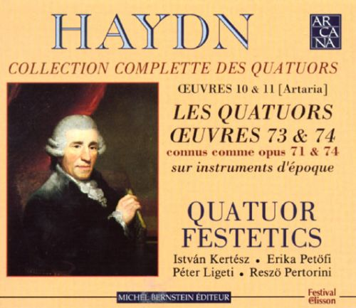 Joseph Haydn: Collection Complette Des Quatuors