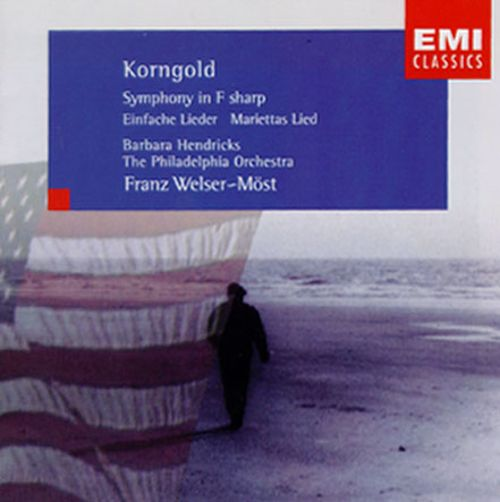 Korngold: Symphony in F; Six Simple Songs; Mariettas Lied
