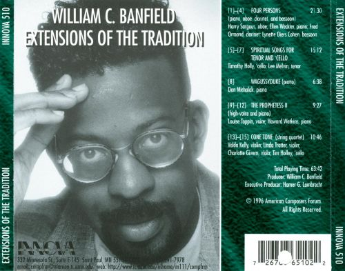 William C. Banfield: Extensions Of The Tradition