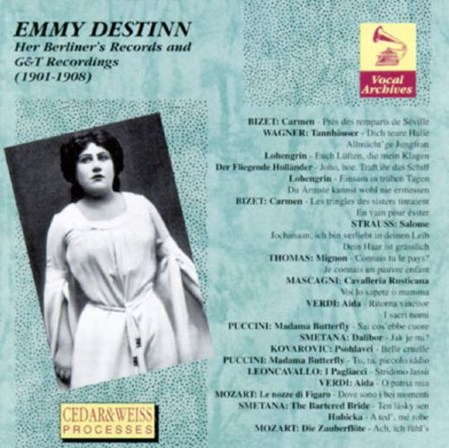 Emmy Destinn - Her Berliner's Record And G.&T. Recordings (1901-1908)