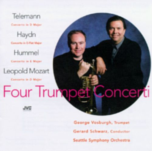 Telemann: Concerto in D major/Haydn: Concerto in E flat major/Hummel: Concert in E major/Mozart: Concert in D major