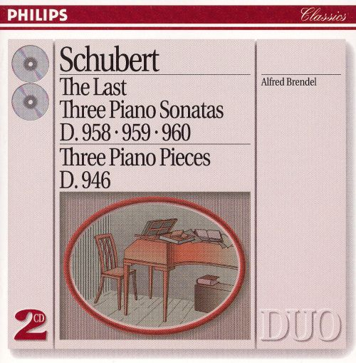 Schubert: The Last Three Piano Sonatas