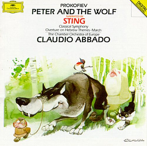 Prokofiev: Peter and the Wolf; Classical Symphony; Overture on Hebrew Themes; March