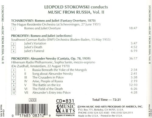 Stokowski Conducts Music From Russia, Vol. 2