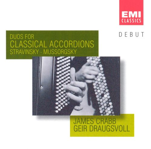 Duos for Classical Accordions