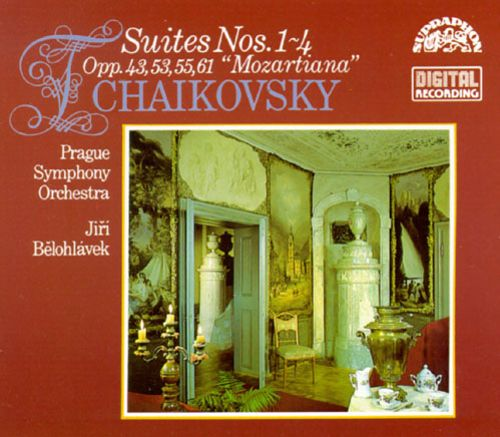 Tchaikovsky: Suite for orchestra No4; Suite for orchestra No3