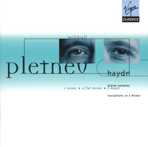 Haydn: Piano Sonatas in C minor, E flat major & C major; Variations in F minor