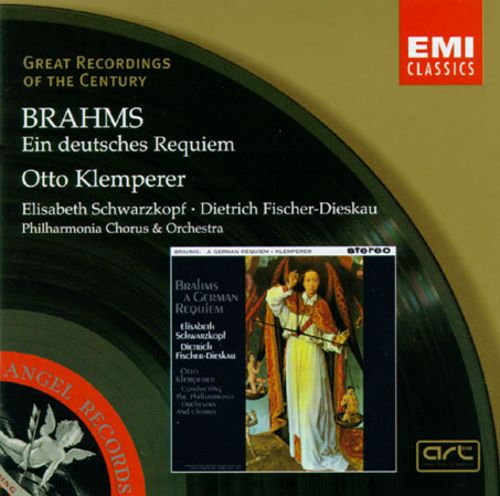 Otto Klemperer Brahms A German Requiem Records, LPs, Vinyl ...