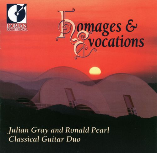 Homages And Evocations: Music For Two Guitars