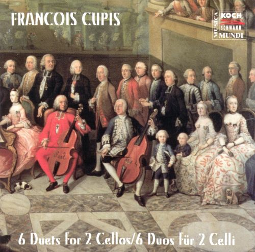 Cupis: 6 Duets for Cello
