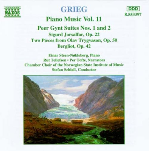 Grieg: Piano Music, Vol. 11