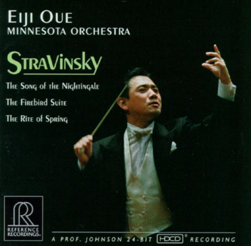 Igor Stravinsky: The Firebird Suite; Nightingale; Rite of Spring
