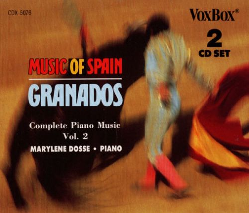 Enrique Granados: Complete Piano Music, Vol.2