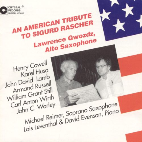 An American Tribute to Sigurd Rascher