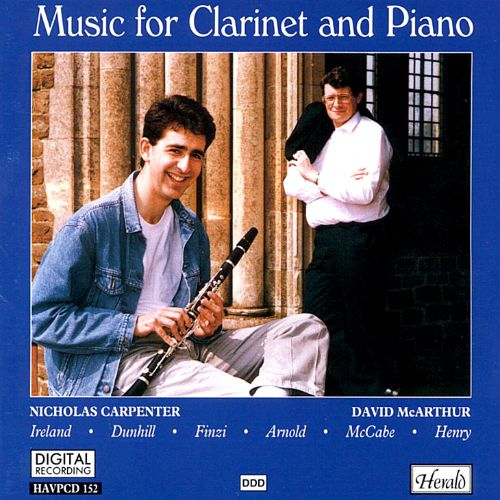 Music for Clarinet and Piano