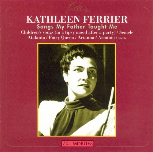 songs of the british isles kathleen ferrier biography