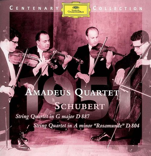 Schubert: String Quartets, D887 & D804
